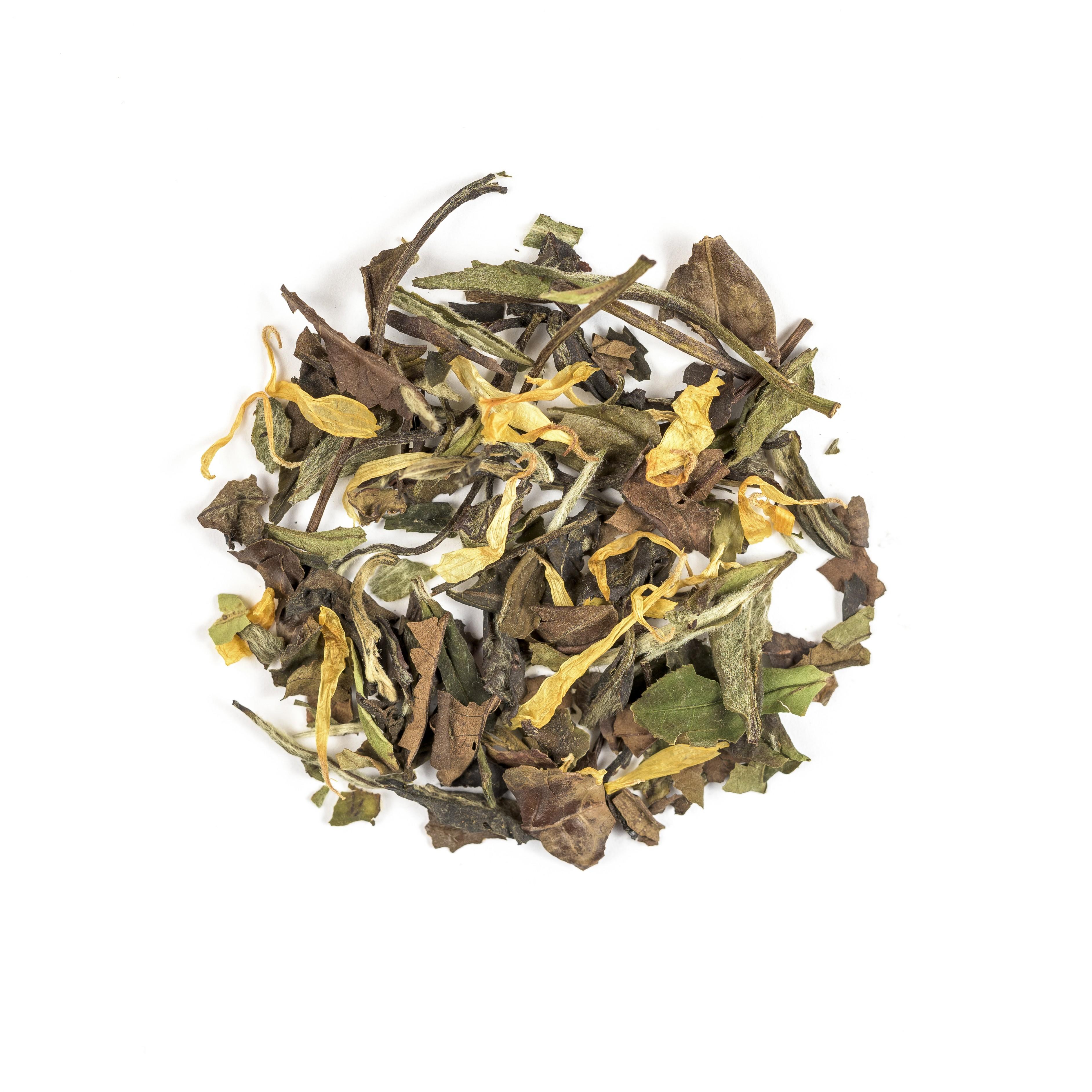 white tea elderflower